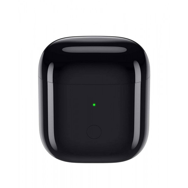 Realme Buds Air with Wireless Charging Case Bluetooth Headset (Black)