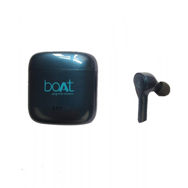 BoAt Airdopes 433 Bluetooth Headset (Blue, True Wi...