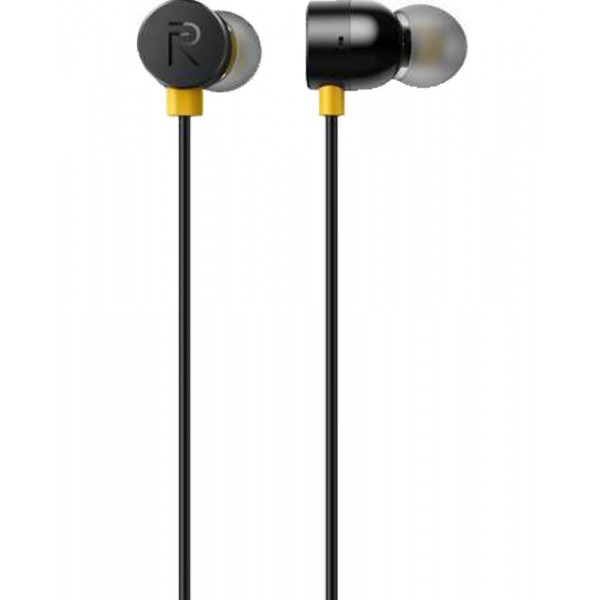 Realme RMA101 Wired Headset  (Black, In the Ear)