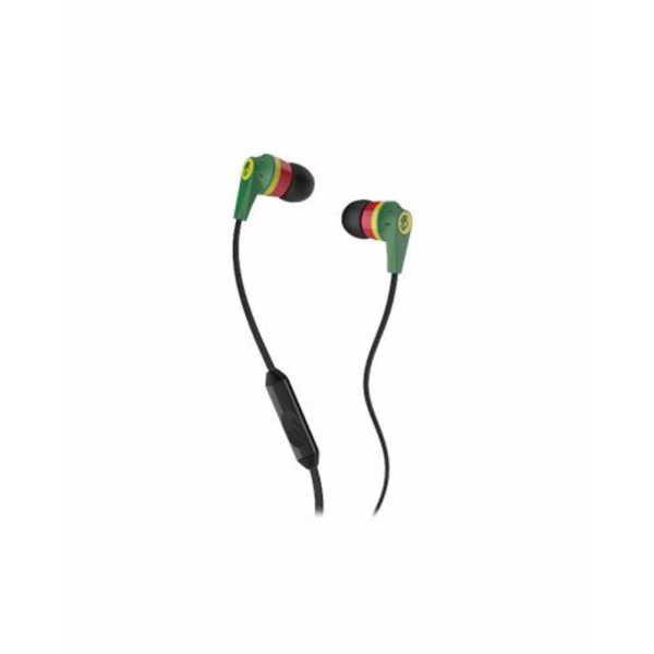 Skull candy Ink'd Earbuds with super bass(Green)