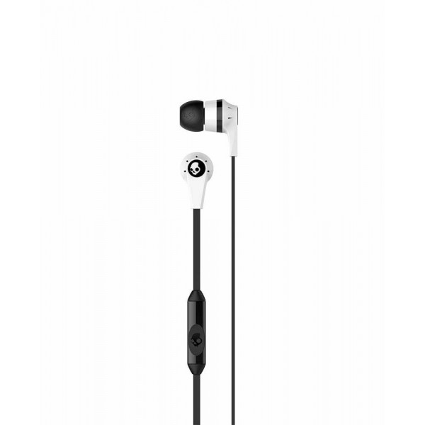 Skullcandy Ink'd Wired In-Earphone with Mic(White)
